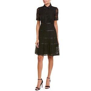 NWT lace shirt dress